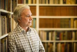 Antonio Carlos Secchin, poeta e membro da ABL, estreia na literatura infantil Foto: Fernando Lemos / Agência O Globo