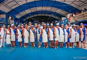 A galeria de Velha Guarda da Portela completa 50 anos em 2018 Foto: Leo Cordeio / Agência O Globo