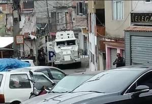 Policiais do Bope em operação no Alemão Foto: Divulgação/PM