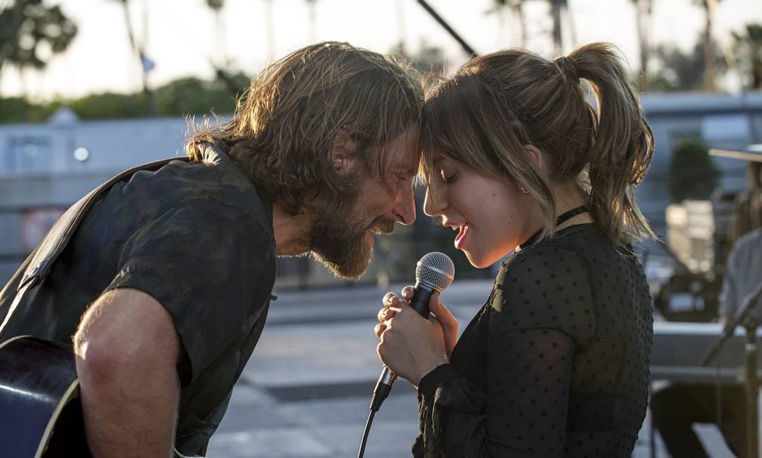 Bradley Cooper contracena com Lady Gaga no filme Foto: Divulgação