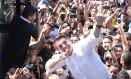 O candidato a presidente Jair Bolsonaro em campanha 05/09/2018 Foto: Givaldo Barbosa / Agência O Globo