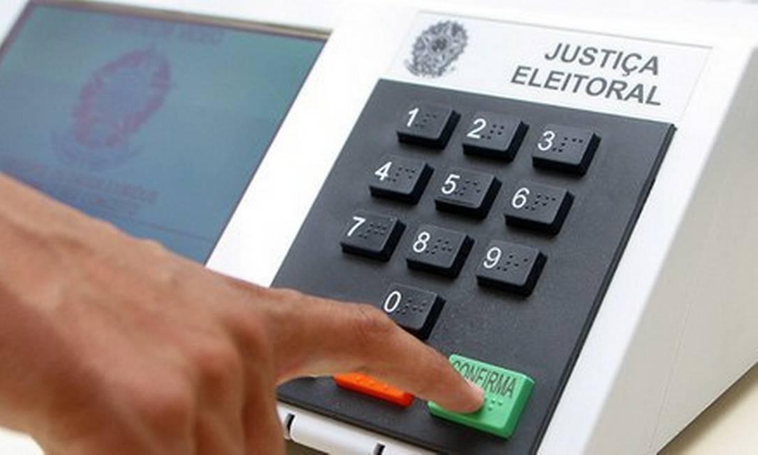 Urna eletrônica Foto: Divulgação/TSE