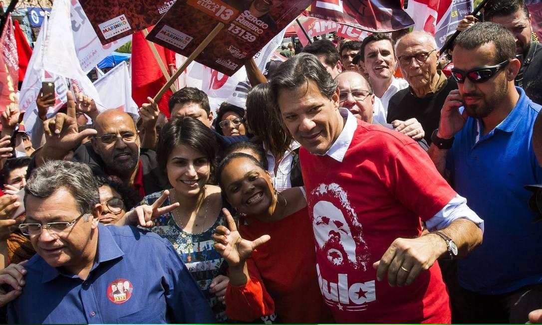 O candidato do PT a presidente, Fernando Haddad 13/09/2018 Foto: Edilson Dantas / Agência O Globo
