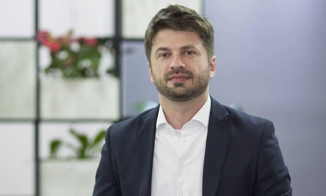 Há cinco meses, Marcio Fabian deixou para trás 14 anos em um banco para se associar ao Prosperidade Investimentos: desconforto com a necessidade de bater metas Foto: Agência O Globo
