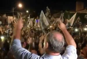 Ciro Gomes faz atividade de campanha em Sobral Foto: Reprodução/Facebook