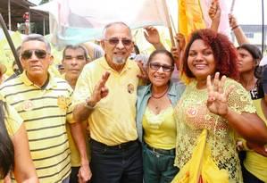 João Capiberibe, candidato do governo do Amapá, mudou o vice na chapa, que era do PT, após TRE do estado barrar candidaturas Foto: Reprodução Facebook
