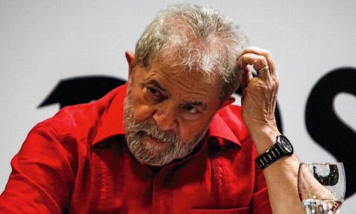 O ex-presidente Lula Foto: Suamy Beydoun / AGIF/AFP
