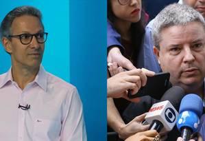 Romeu Zema (Novo) e Antonio Anastasia (PSDB) disputam o segundo turno em Minas Foto: .