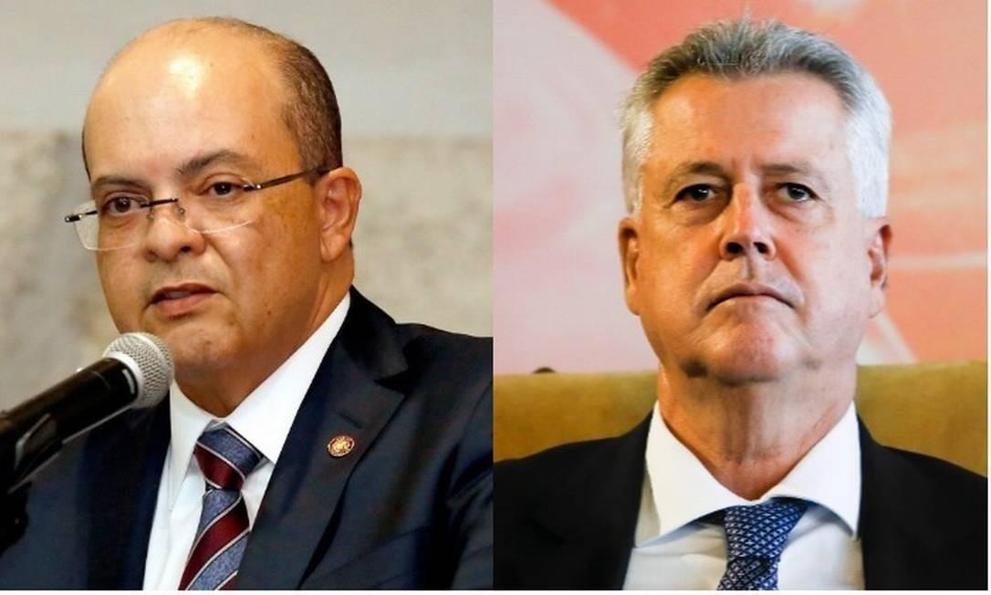 Ibaneis (MDB) e Rodrigo Rollemberg (PSB), candidatos ao governo do Distrito Federal Foto: Montagem sobre fotos de arquivo