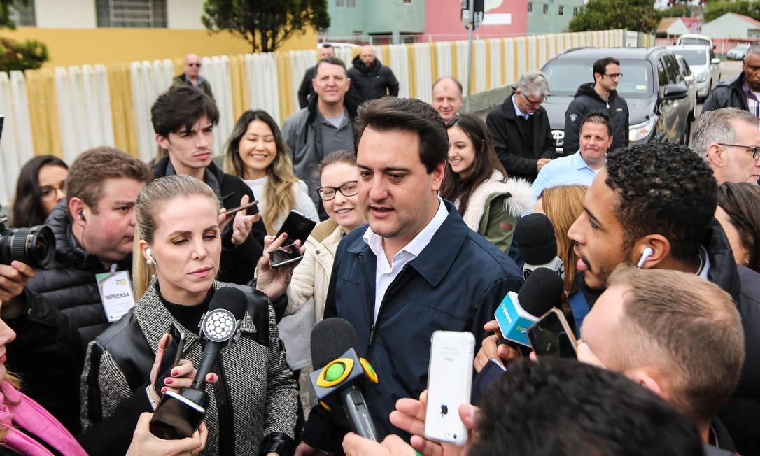 Ratinho Júnior (PSD), eleito para governador no Paraná Foto: Geraldo Bubniak/AGB / Agência O Globo