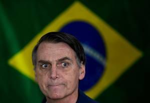 BBolsonaro seria eleito em Washington Foto: MAURO PIMENTEL / AFP
