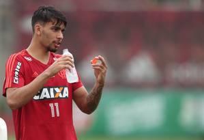 Meia Lucas Paquetá estava no radar de vários clubes europeus Foto: Gilvan de Souza / Flamengo