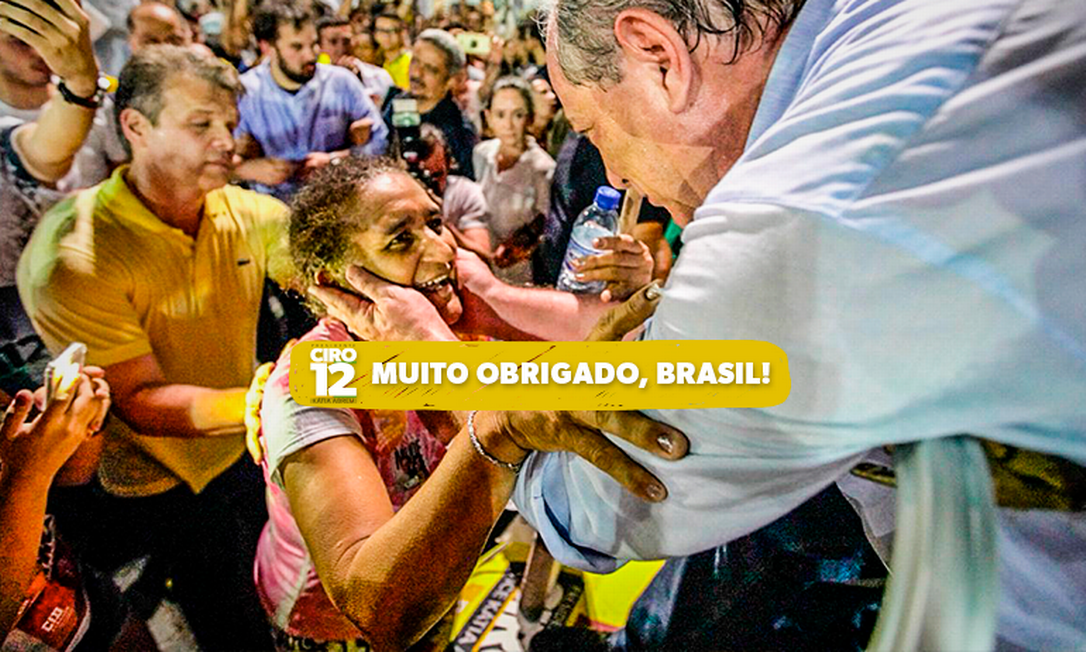 Imagem publicada na página de Ciro Gomes no Facebook Foto: Reprodução/Facebook