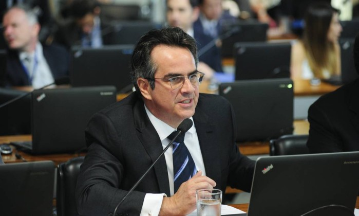 O senador Ciro Nogueira (PP-PI) na Comissão de Assuntos Econômicos Foto: Pedro França/Agência Senado/10-07-2018