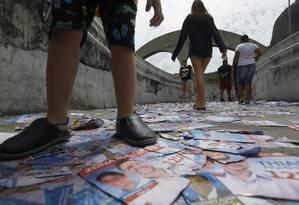 Eleitores no Rio enfrentam problemas ao votar Foto: Custódio Coimbra / Agência O Globo