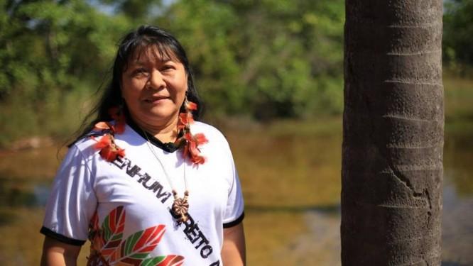 Joênia Wapichana é a primeira mulher indígena eleita no Brasil Foto: Divulgação