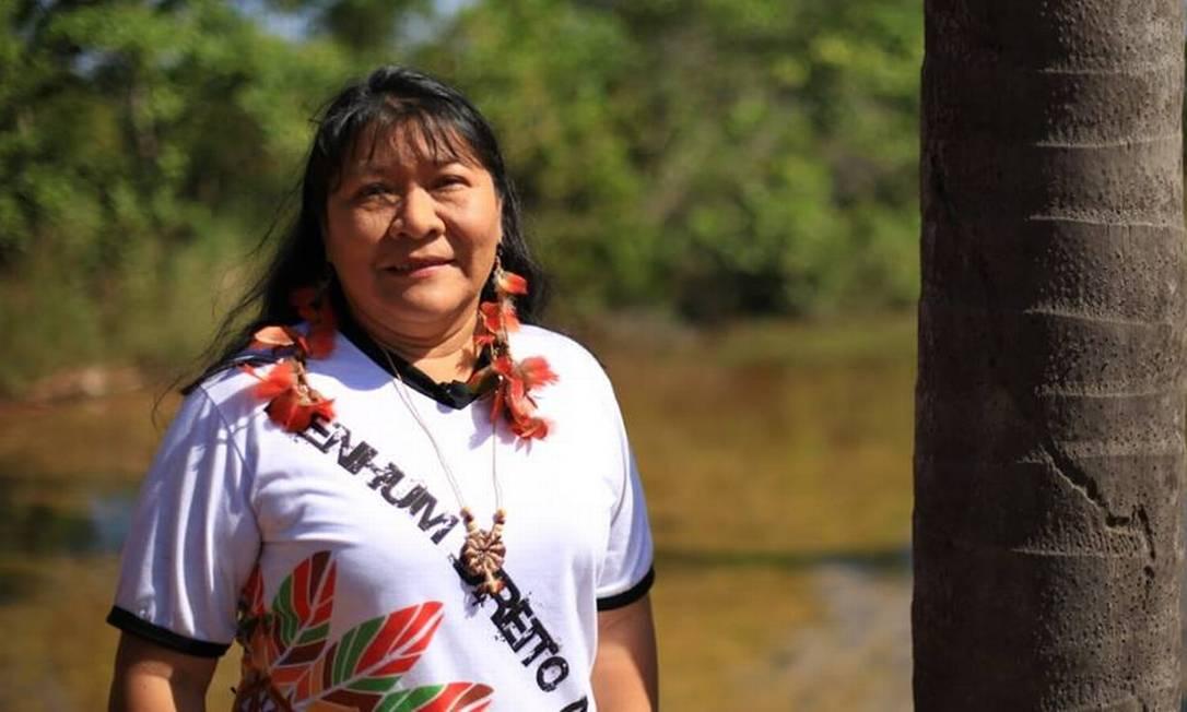 Joenia Wapichana é a primeira indígena eleita no Brasil Foto: Divulgação