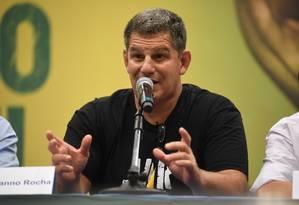 Gustavo Bebianno vai montar uma força-tarefa para investigar as denúncias que foram recebidas ao longo deste domingo de supostas fraudes Foto: MAURO PIMENTEL / AFP
