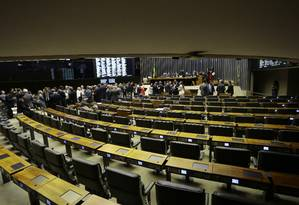 Sessão ordinária da Câmara dos Deputados Foto: Jorge William / Agência O Globo