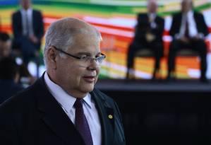 O deputado Lúcio Vieira Lima participa de reunião do MDB Foto: Jorge William/Agência O Globo/22-05-2018