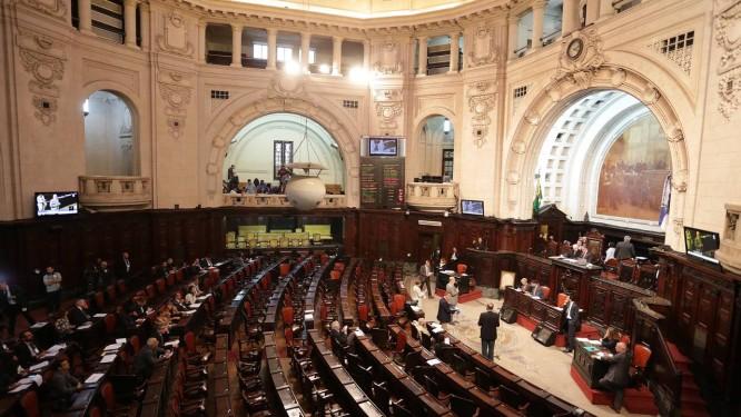 Assembléia Legislativa do Rio (Alerj) terá nova cara a partir de 2019 Foto: Márcio Alves / Agência O Globo