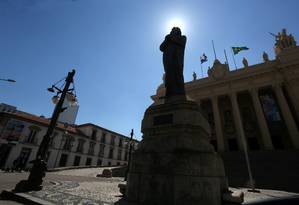 Palácio Tiradentes, sede da Alerj Foto: Custódio Coimbra / Agência O Globo