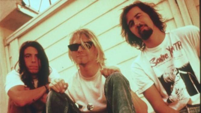 O conjunto do Nirvana com Kurt Coibain em 1992 Foto: Divulgação