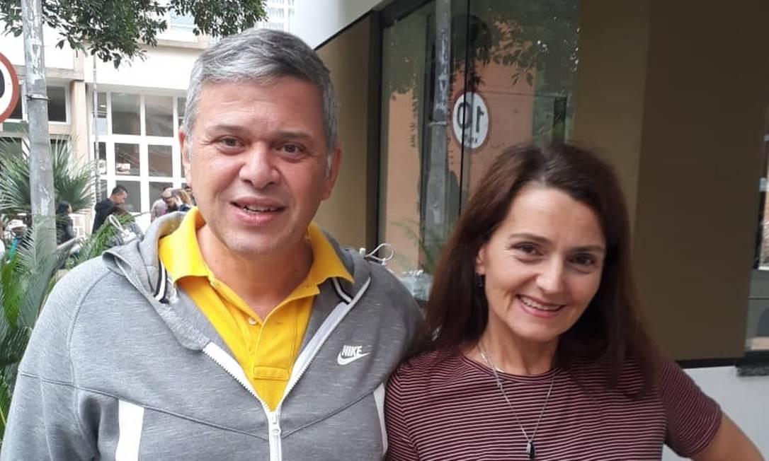 O engenheiro civil paulistano Celio Major e sua mulher, Maria José Mafei Foto: Ruan de Sousa Gabriel