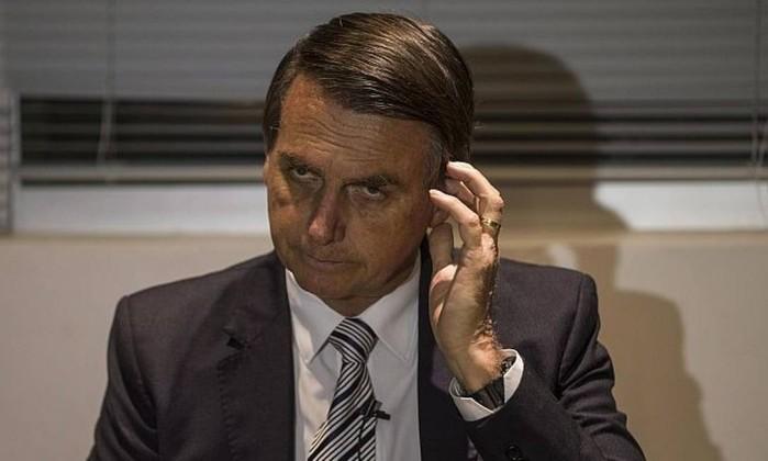 O presidenciável Jair Bolsonaro (PSL-RJ) Foto: Alexandre Cassiano / Agência O Globo
