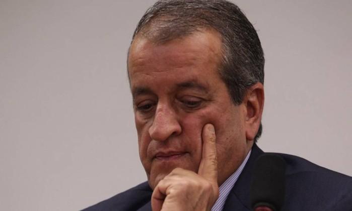 O ex-deputado Valdemar Costa Neto, chefe do PR e condenado no Mensalão Foto: André Coelho / Agência O Globo