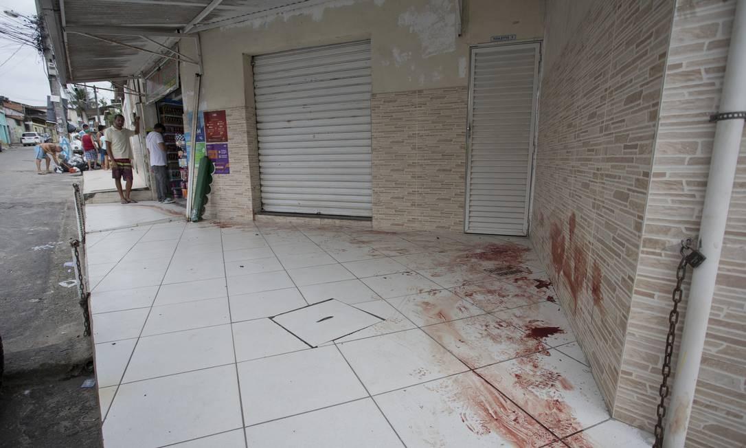 O confronto resultou um morto e três feridos Márcia Foletto / Agência O Globo
