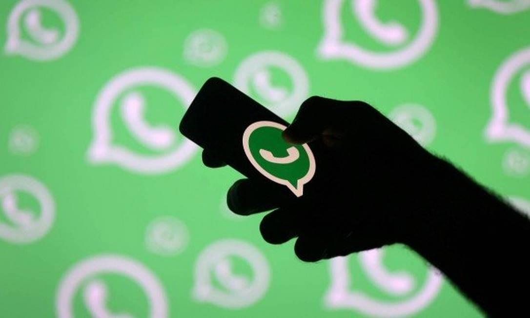 Em 2018, o WhatsApp vem sendo usado como ferramenta de campanha eleitoral Foto: Divulgação