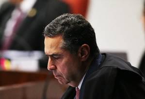 O ministro Luís Roberto Barroso Foto: Ailton de Freitas/Agência O Globo/18-09-2018