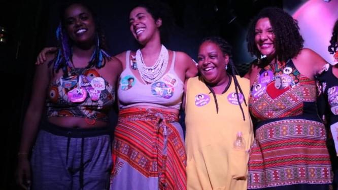 Da esquerda para a direita, Dani Monteiro, Talíria, Mônica e Renata Foto: Divulgação/Fael