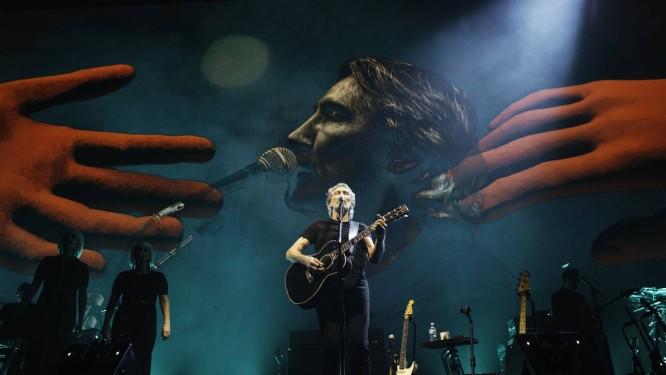 Roger Waters no show 'Us + them' Foto: Divulgação/Kate Izor