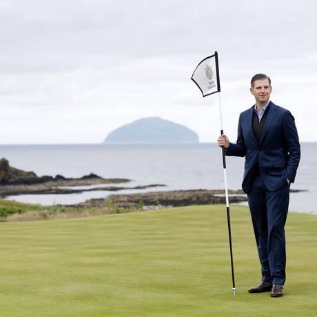 Campo de golfe na Escócia Foto: Matthew Lloyd / Bloomberg