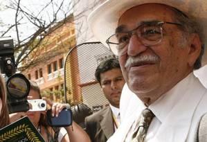 O Prêmio Nobel de Literatura Gabriel García Márquez Foto: EFE/Ballesteros