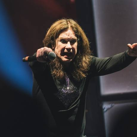 Show de Ozzy Osbourne no Arena Jeunesse neste ano Foto: Luiz Henrique Estevam / Zimel / Agência O Globo / Agência O Globo