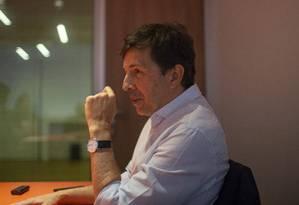 Entrevista com o candidato à presidência João Amoedo pelo partido Novo Foto: Alexandre Cassiano / Agência O Globo (06/08/2018)