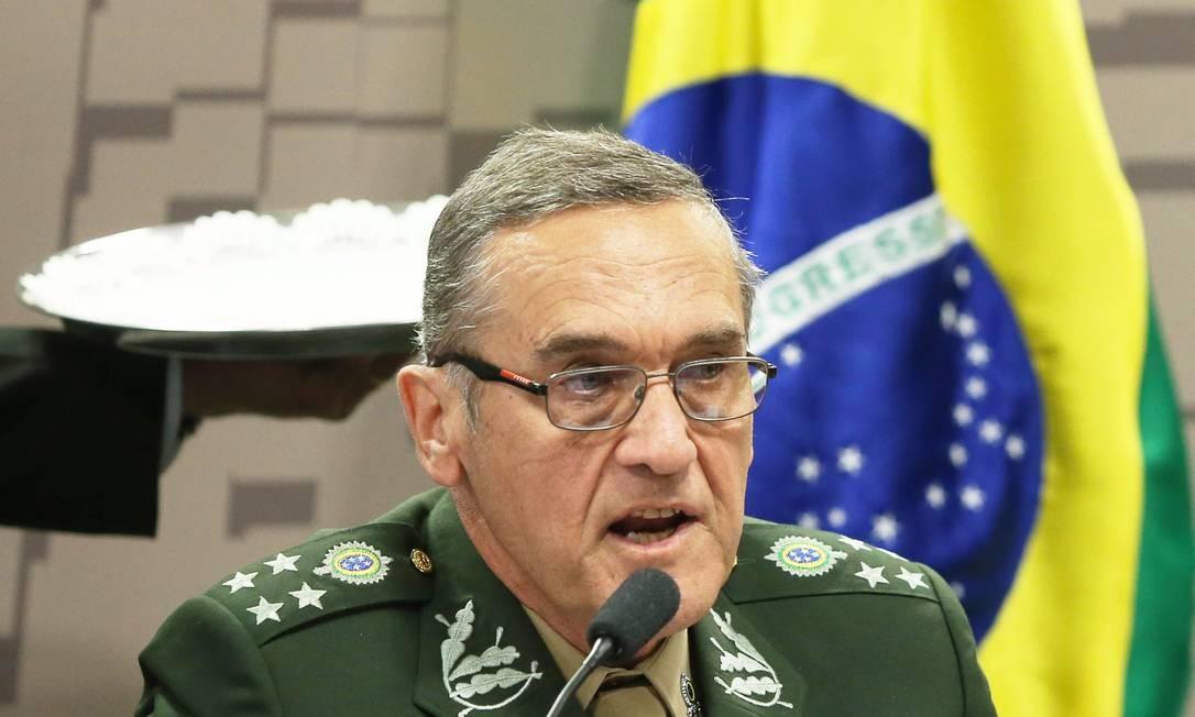 O Comandante do Exército, General Costa Villas Boas Foto: Ailton de Freitas / Agência O Globo