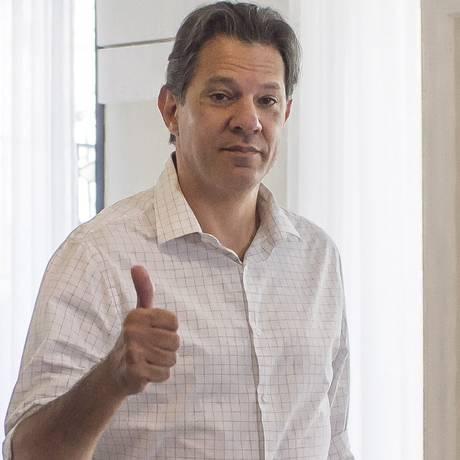 Fernando Haddad se reúne com PT em hotel de SP Foto: Edilson Dantas / Agência O Globo