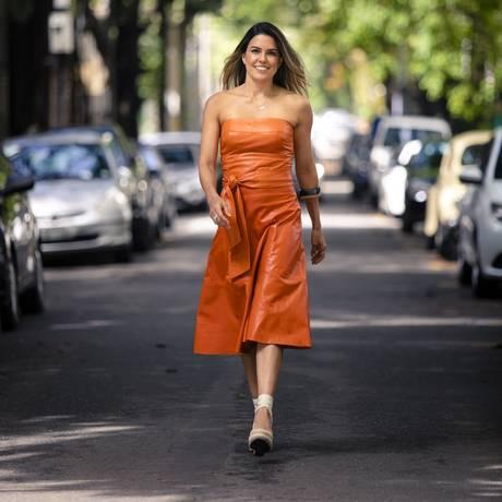 A estilista Carol Rossato Foto: Leo Martins
