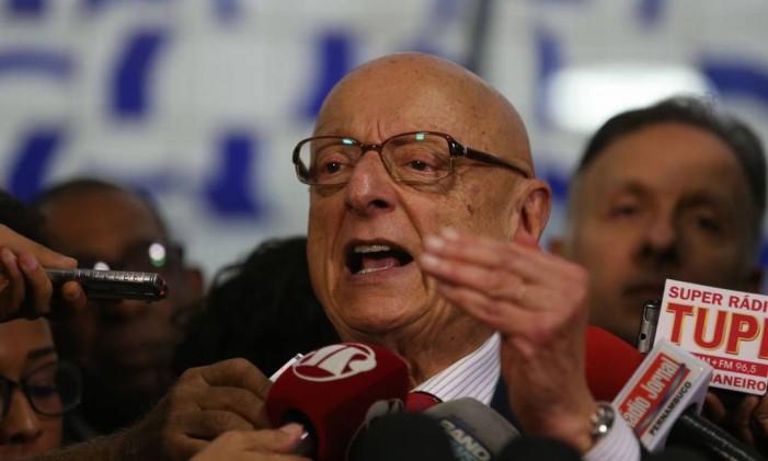 Esperidião Amin Foto: Fabio Rodrigues Pozzebom / Agência Brasil