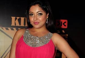 Atriz Tanushree Dutta denunciou colega de trabalho por assédio sexual Foto: - / AFP