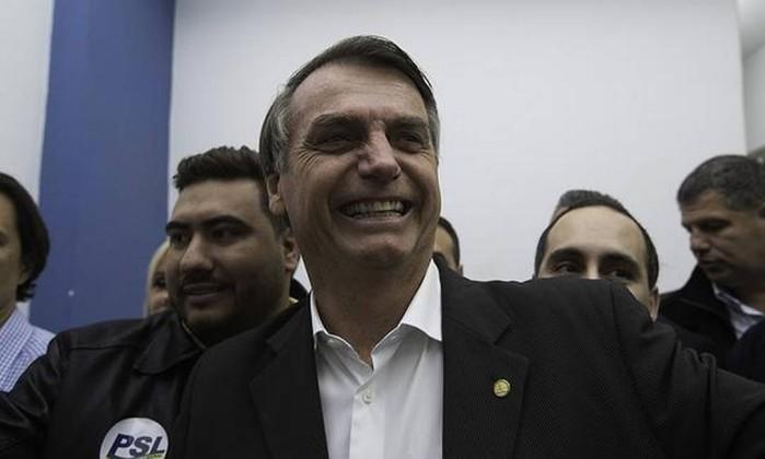 O presidenciável Jair Bolsonaro (PSL) Foto: Bruno Rocha / Fotoarena/Agência O Globo