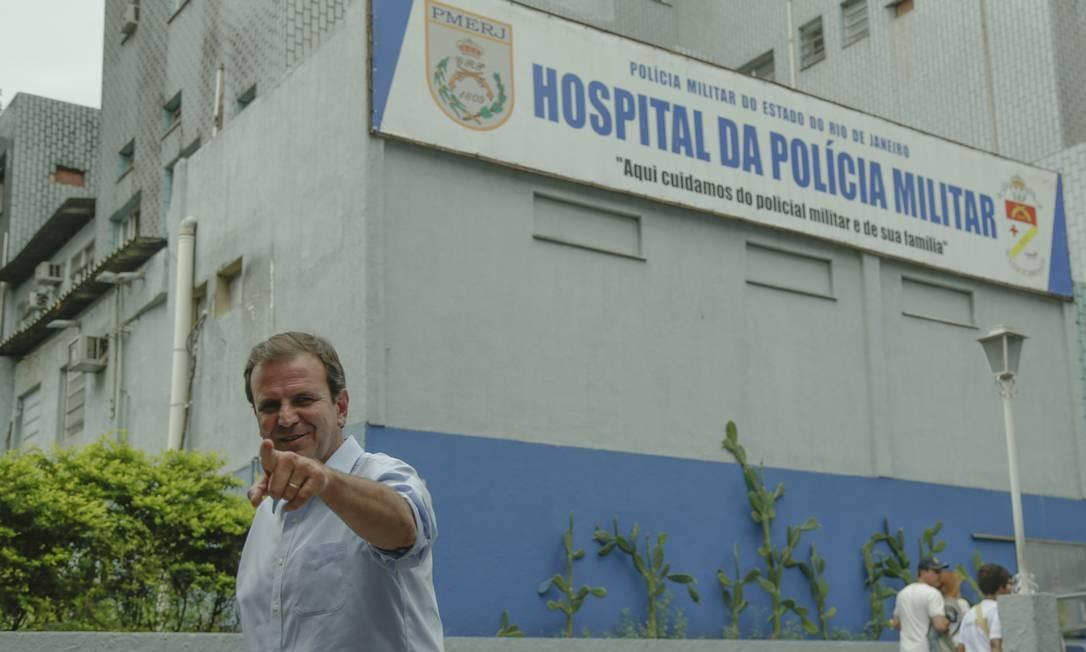 Paes critica radicalizaçãocontra Bolsonaro, mas diz que manterá neutralidade Foto: Gabriel de Paiva / Agência O Globo
