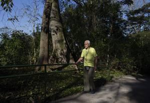 Gestor. Márcio Carazza na rampa de acessibilidade inaugurada em 2015 Foto: Alexandre Cassiano / Agência O Globo