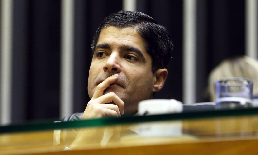 O prefeito de Salvador, ACM Neto, no plenário da Câmara Foto: Givaldo Barbosa/Agência O Globo/25-04-2018