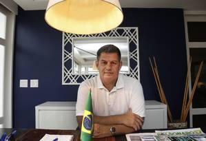 O presidente do PSL, Gustavo Bebianno Foto: Marcos Ramos / Agência O Globo