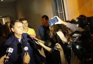 'Vamos acabar com a farra dos marajás', diz Bolsonaro Foto: Domingos Peixoto/ Agência O GLOBO